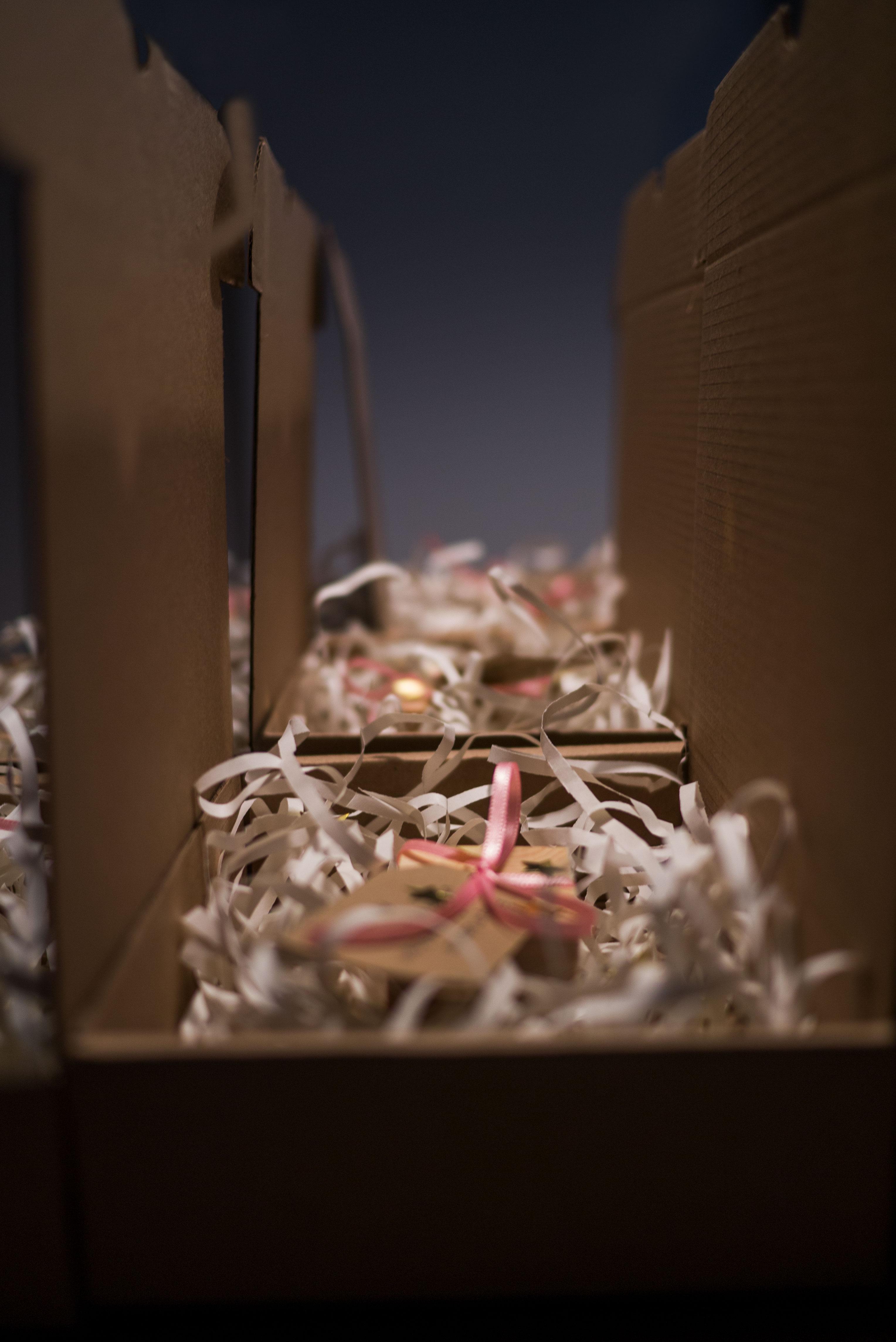 Weihnachtskarte, Vierte Wand Filmproduktion, Mailing, Grafikdesign Wiesbaden